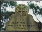William Barlow's grave